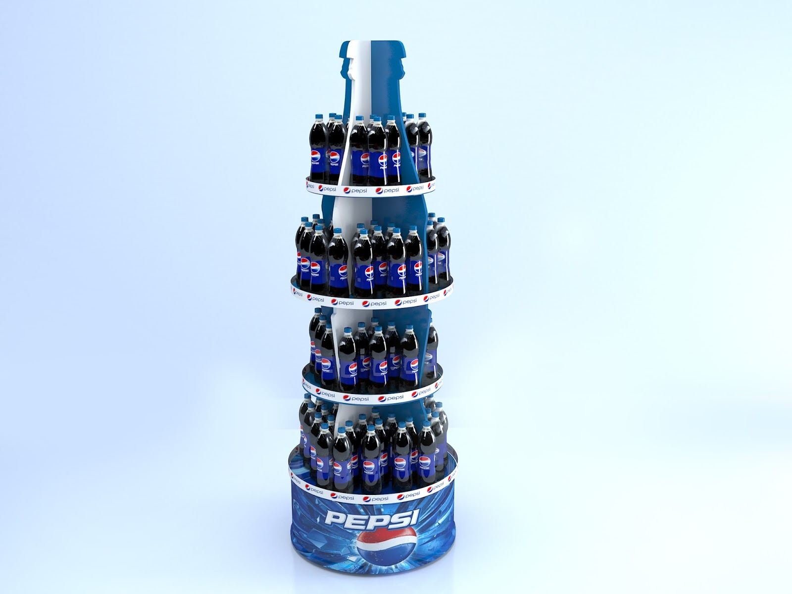 Промо стойка Pepsi