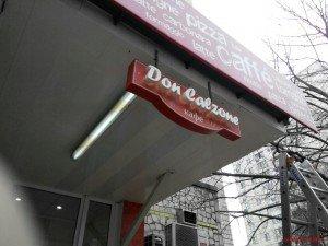 Лайтбокс Don Calzone