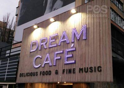 Светодиодная вывеска Dream Cafe