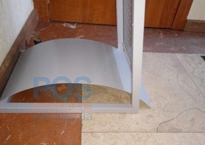 подставка металлической буклетницы