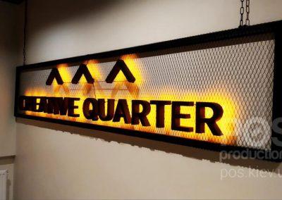 Creative Quarter вывеска