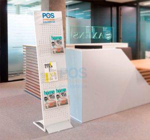 рекламная стойка, стока для журналов, информационная стойка, буклетница